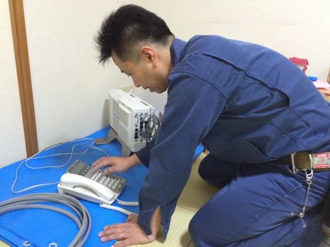 主装置設置及び設定 千葉県 写真